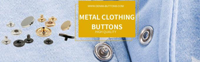 METAL CLOTHING BUTTONS
